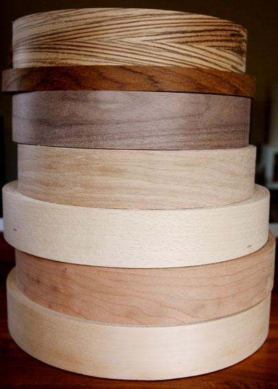 Real Wood Veneer Iron On Edging Tape Edge Banding 22mm