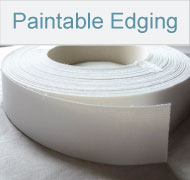 paintable edging