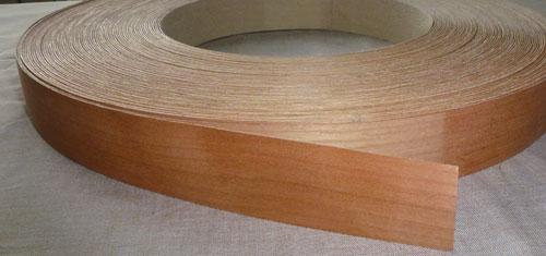 Cherry Veneer Edge Banding Iron On Edging Tape Edgeband
