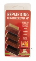 Konig Repair King Soft Wax Kit - Dark Wood Shades