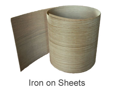 How to Apply Iron on Wood Veneer