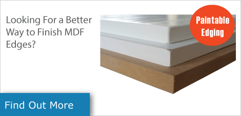 painting mdf edges