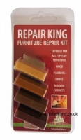 Konig Repair King Soft Wax Kit - Medium Wood Shades